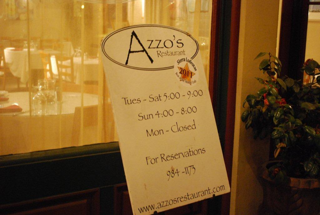 Azzo's Restaurant and Bar